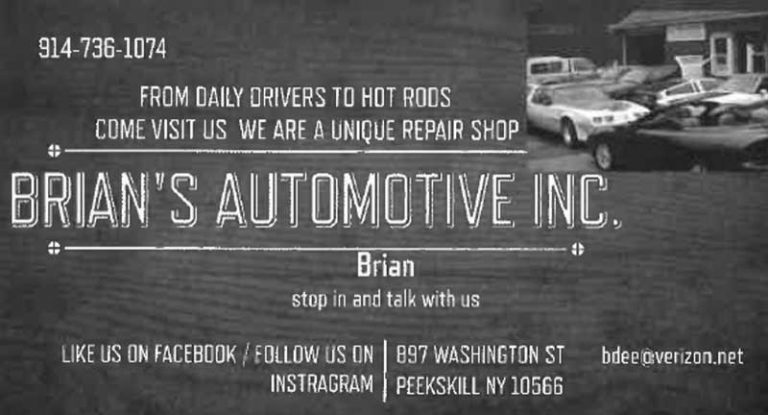 Brian's Automotive ad.