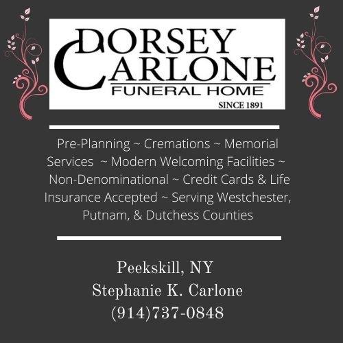Dorsey Carlone Funeral Home Ad