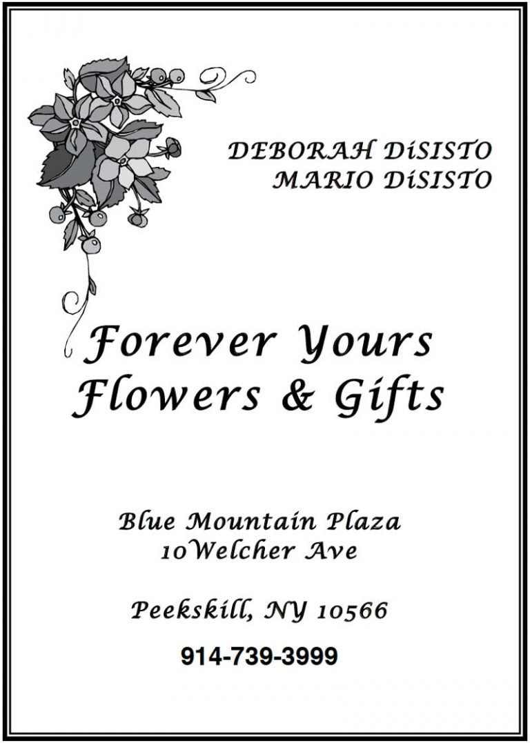 Forever Yours FLowers & Gifts ad.