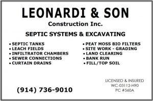 Leonardi & Son Construction banner ad