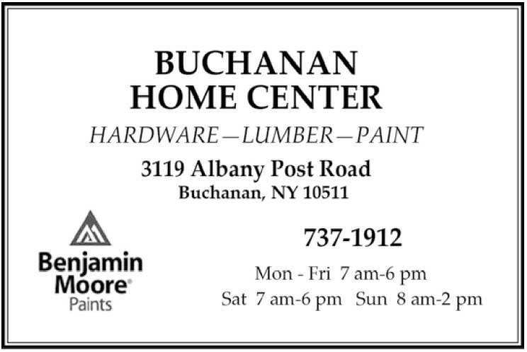 Buchanan Home Center Business Card