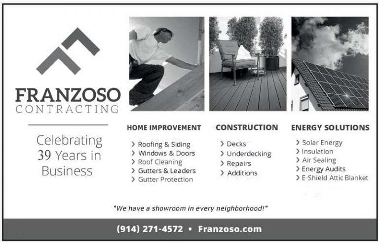 Franzoso Contracting Business Card Ad