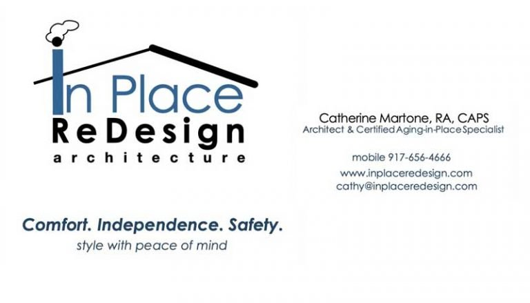 In Place Redesign Business Card