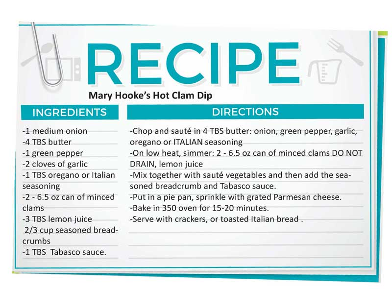 Hot Clam Dip Recipe