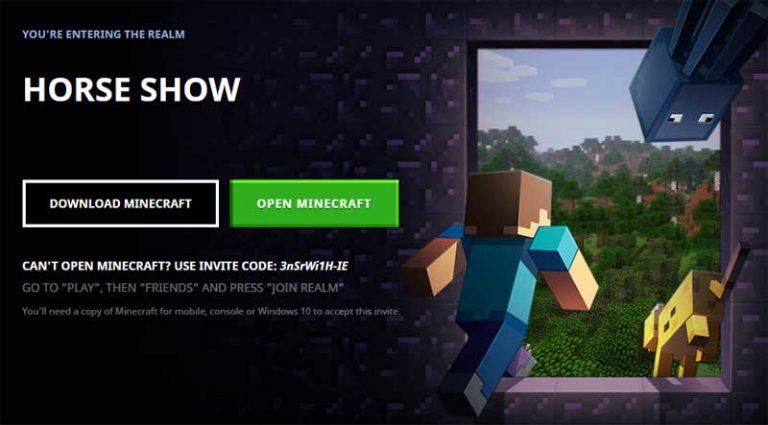 Horse Show Realm Minecraft