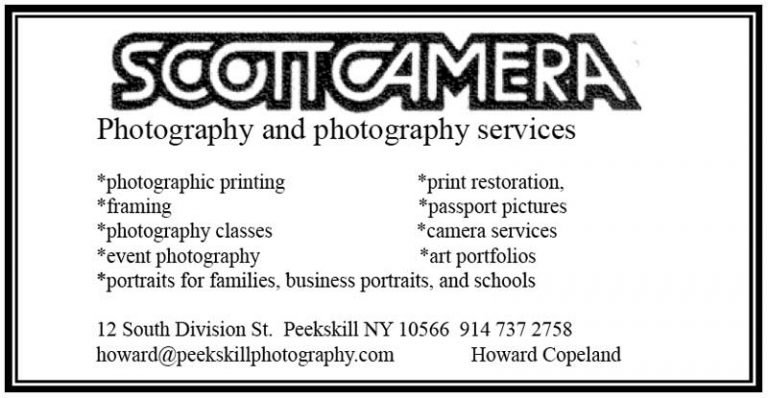 Scott Camera Business Card