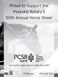 PCSB Bank Supports Peekskill Rotary's 50th Horse Show